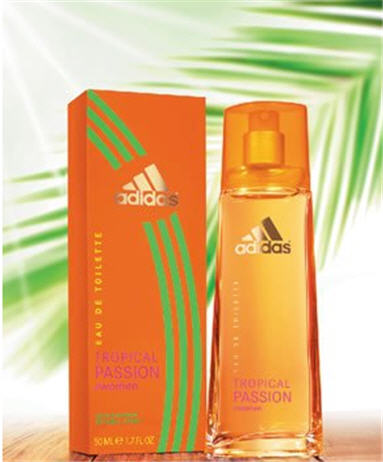 Купить Adidas Tropical Passion For Woman edt 50 ml