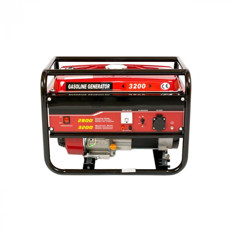 Купить Генератор бензиновый WEIMA WM3200 (3,2 кВт, 1 фаза, ручной старт)