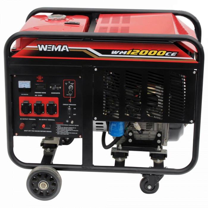 Купить Генератор дизельный WEIMA WM12000CE1 (12 кВт, 1 фаза, электростартер)