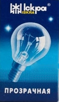 """Лампа накаливания """"шарик"""" ДШ 230-60 Вт Е14"""