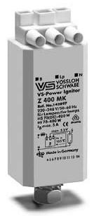 Импульсно зажигающее устройство (ИЗУ) Type Z400МK VS Power 142897.02 VS