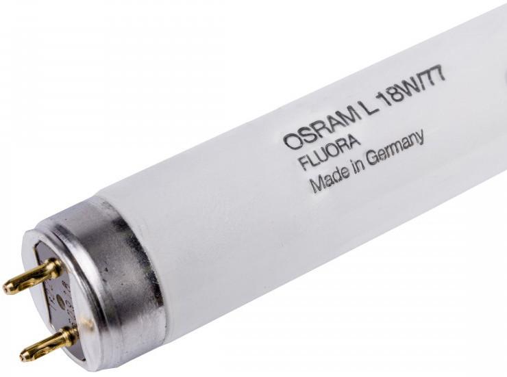 Лампа люминесцентная Osram L18W/77 G13 Fluora