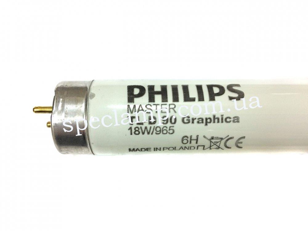 Лампа люминесцентная MASTER TL-D 90 Graphica 18W/965 G13 Philips