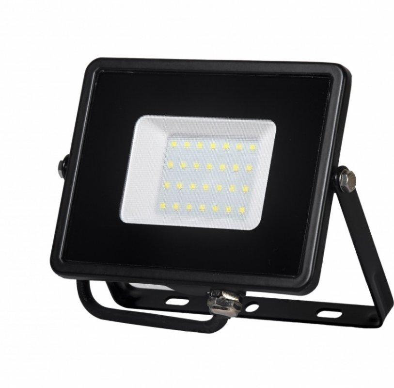 Прожектор светодиодный Delux FMI 10 LED 30Вт 6500K IP65 (90008736)