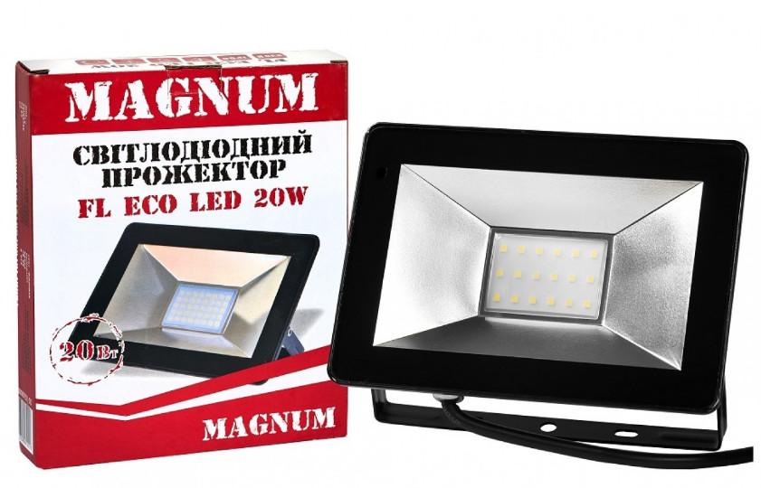 Прожектор светодиодный Magnum FL ECO LED 20Вт 1400Lm 6500К IP65