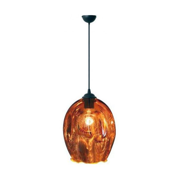 Светильник подвесной Horoz Electric METEOR-1 цвет-медь E27