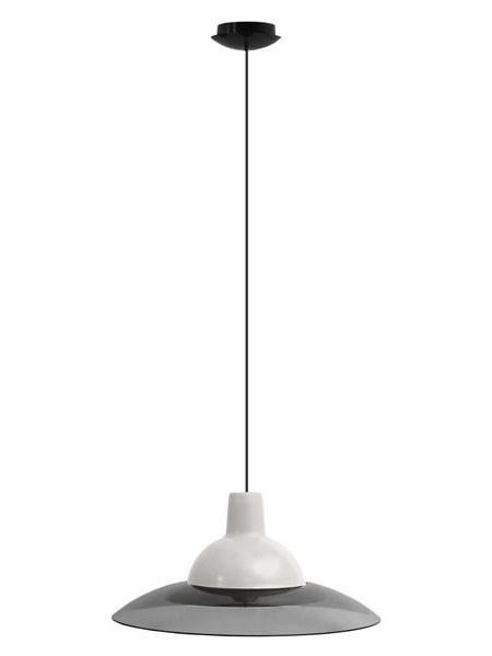 Светильник потолочный ERKA 1305 белый с черным кабелем