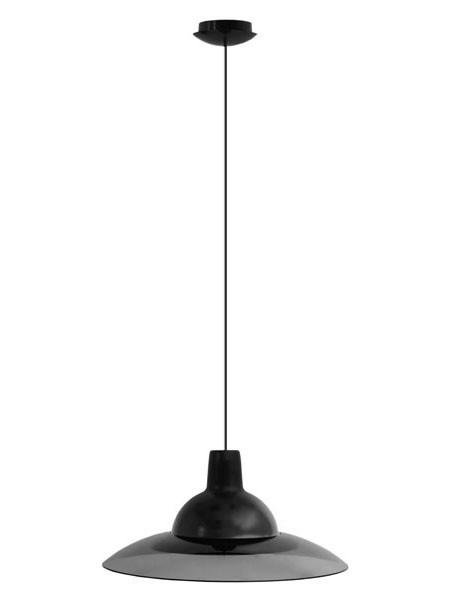 Светильник потолочный ERKA 1305 черный с черным кабелем