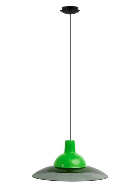 Светильник потолочный ERKA 1305 LED 12W 4200 К салатовый с черным кабелем