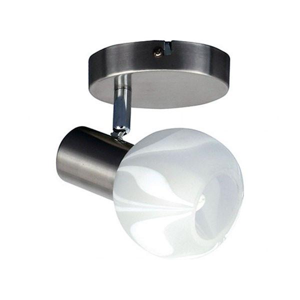 Светильник настенно-потолочный Horoz Electric BODRUM-1 мат.хром