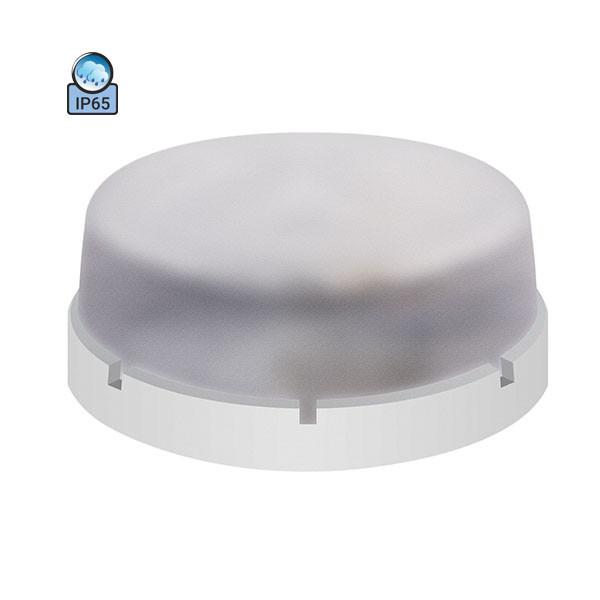 Светильник потолочный ERKA 1065 IP65 прозрачный/белый