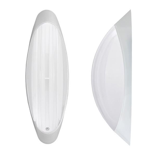 Светильник потолочный ERKA 1205 LED-PB 12W 4200 К матовый/прозрачный