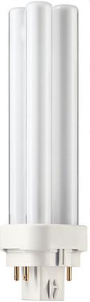 Лампа энергосберегающая Philips PL-С 13W/840/4P G24-q1