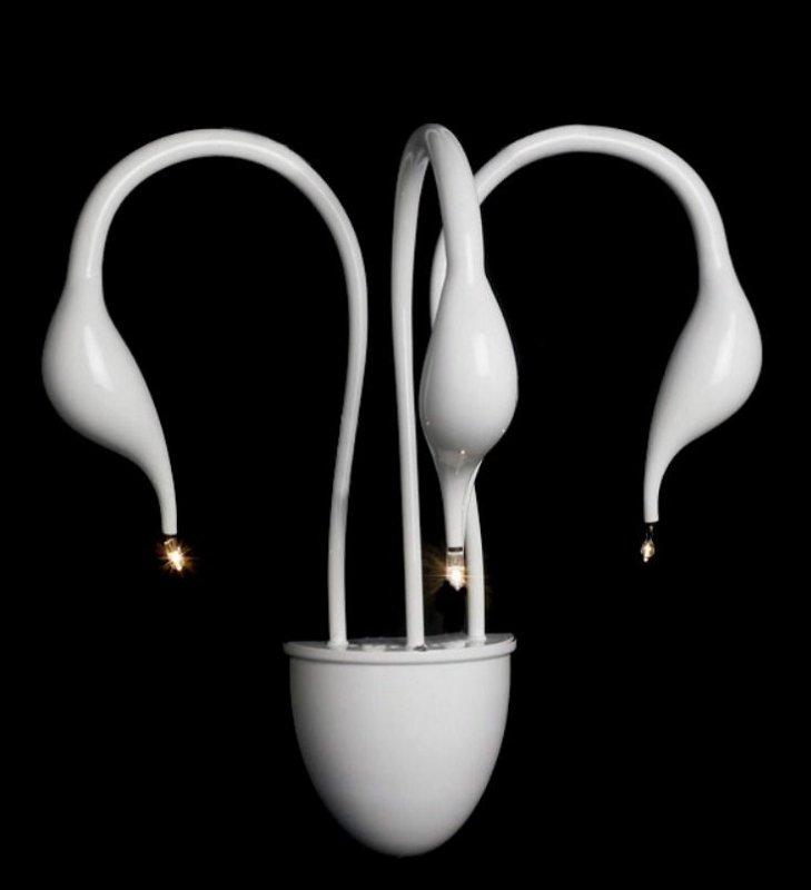 Настенный светильник ILLUMINATI Cigno MB 8098-3A white