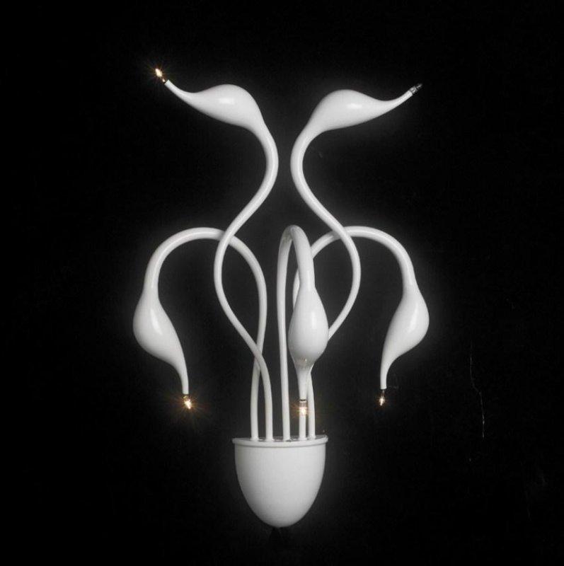 Настенный светильник ILLUMINATI Cigno MB 8098-5A white