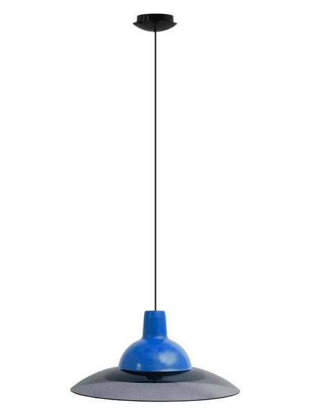 Светильник потолочный ERKA 1305 синий с черным кабелем