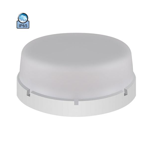 Светильник потолочный ERKA 1065-B IP65 матовый/белый