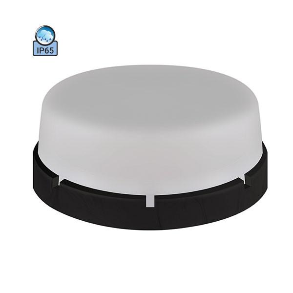 Светильник потолочный ERKA 1065-Black-B IP65 матовый/черный