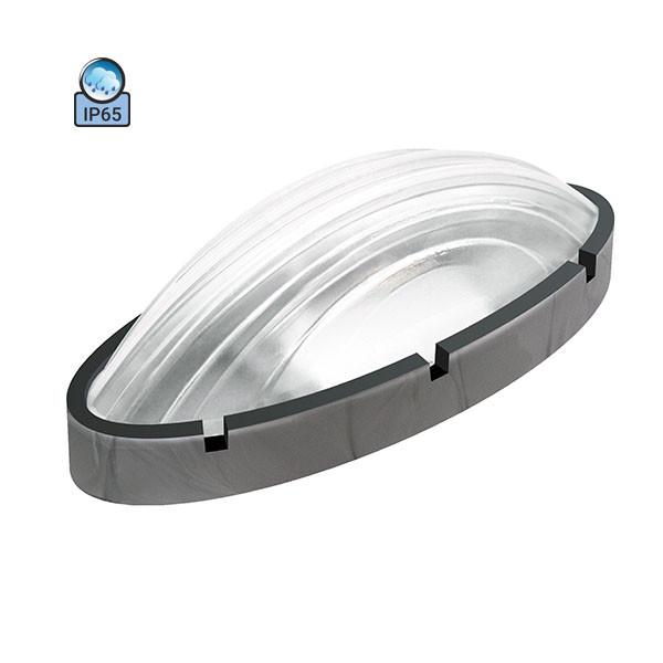 Светильник настенный ERKA 1165-S IP65 прозрачный/серебро