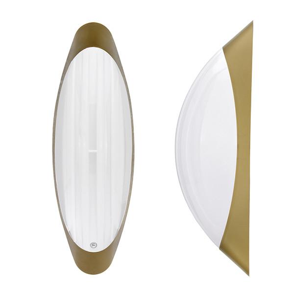 Светильник потолочный ERKA 1205 LED-GB 12W 4200 К матовый/золото