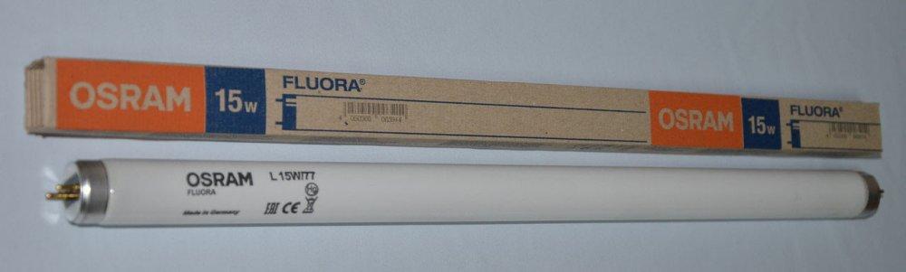 Лампа люминесцентная Osram L15W/77 G13 Fluora