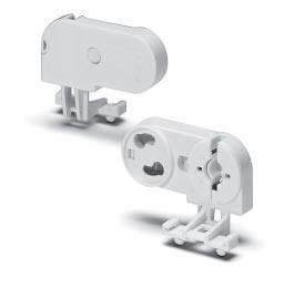 Лампостартеродержатель 100557 G13 защ./верт (251/С)