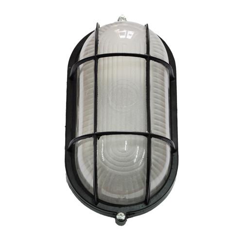 Светильник настенный MIF 022 60W E27 черный IP65
