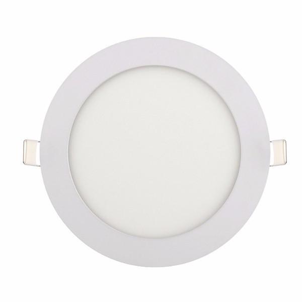 """Панель светодиодная круглая врезная HOROZ ELECTRIC """"Slim - 12"""" 12W 4200К"""