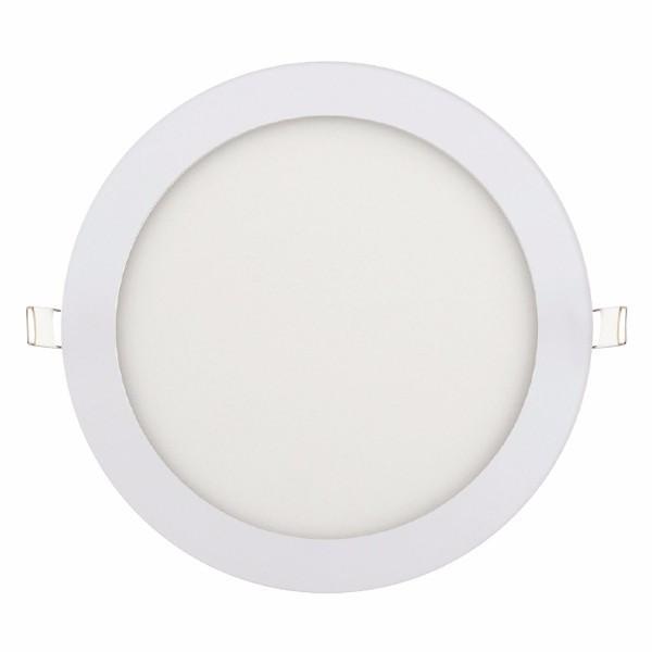 """Панель светодиодная круглая врезная HOROZ ELECTRIC """"Slim - 18"""" 18W 4200К"""