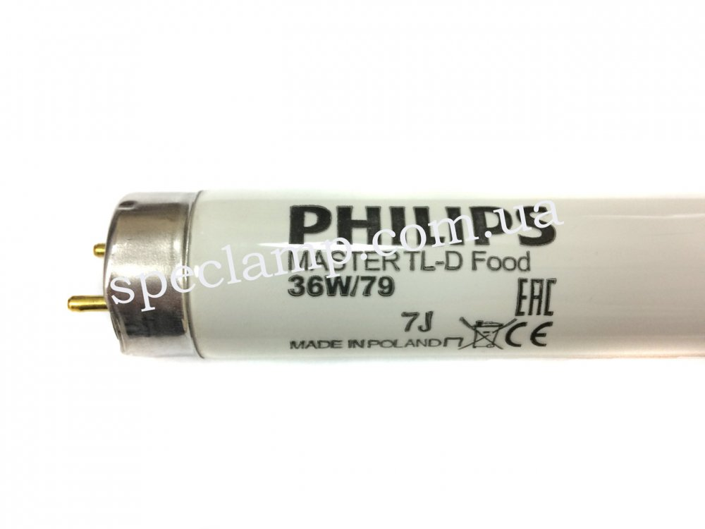 Лампа люминесцентная Philips MASTER TL-D Food 36W/79 G13 (для прилавков)