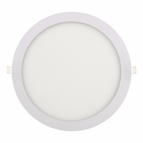 """Панель светодиодная круглая врезная HOROZ ELECTRIC """"Slim - 24"""" 24W 6400K"""