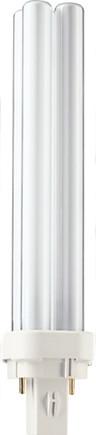 Лампа энергосберегающая Philips PL-С 18W/840/2P G24-d2