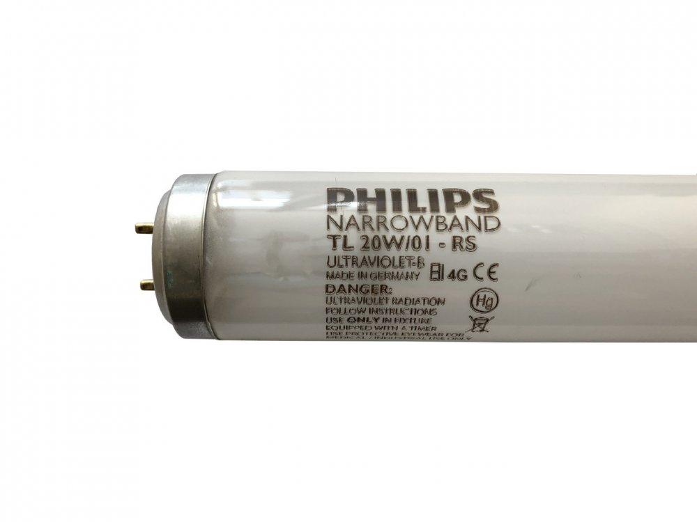 Лампа Philips TL 20W/01 RS /01 20W G13 NARROWBAND для лечения псориаза
