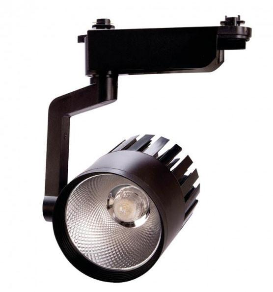 Светильник трековый Ultralight TRL620 20W черный LED