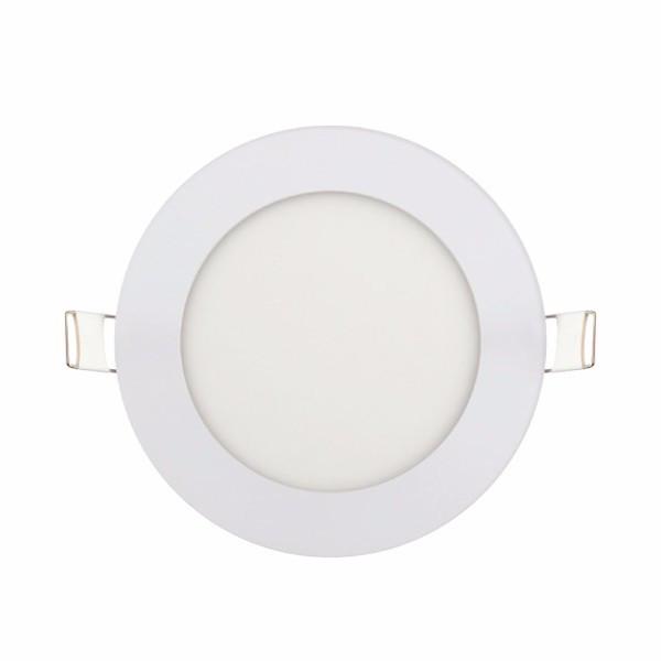 """Панель светодиодная круглая врезная HOROZ ELECTRIC """"Slim - 6"""" 6W 4200К"""