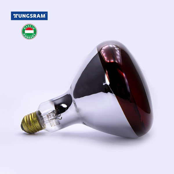 Лампа инфракрасная TUNGSRAM 150Вт, 150R/IR/R/E27 240V