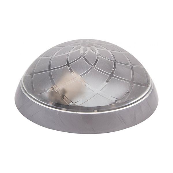 Светильник потолочный ERKA 1127-S прозрачный/серебро