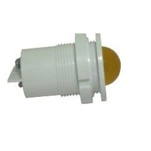 Лампа СКЛ11А-Ж-2-24 Ø 27 Желтая