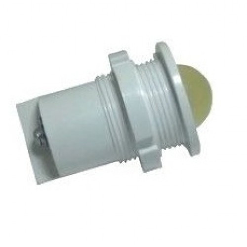 Лампа СКЛ11А-ЖМ-2-220 Ø 27 Желтая