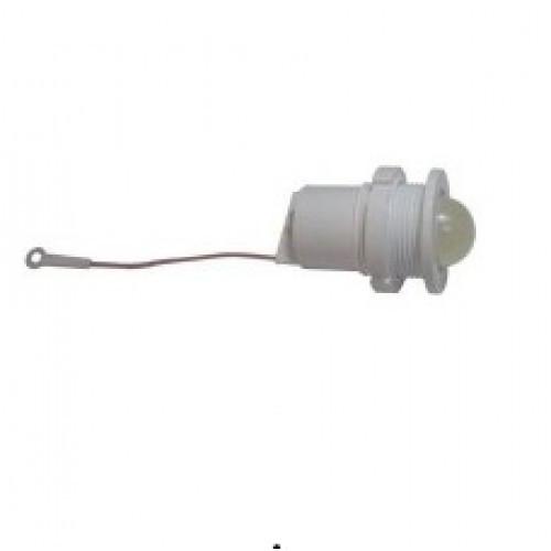 Лампа СКЛ11А-КЛ-2-220 Ø 27 Красно-зеленая
