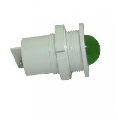 Лампа СКЛ11Б-Л-2-24 Ø 27 Зеленая