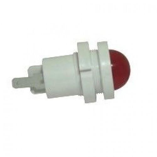 Лампа СКЛ12А-К-2-24 Ø 22 Красная