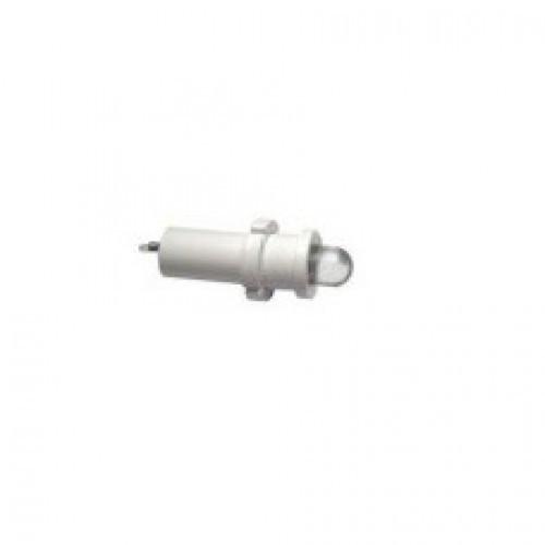 Лампа СКЛ18.3Б-БП-2-220Р Ø 14 Белая