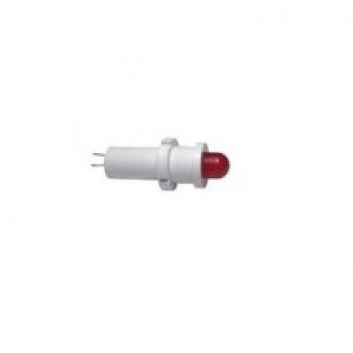 Лампа СКЛ18.3Б-К-3-220 Ø 14 Красная