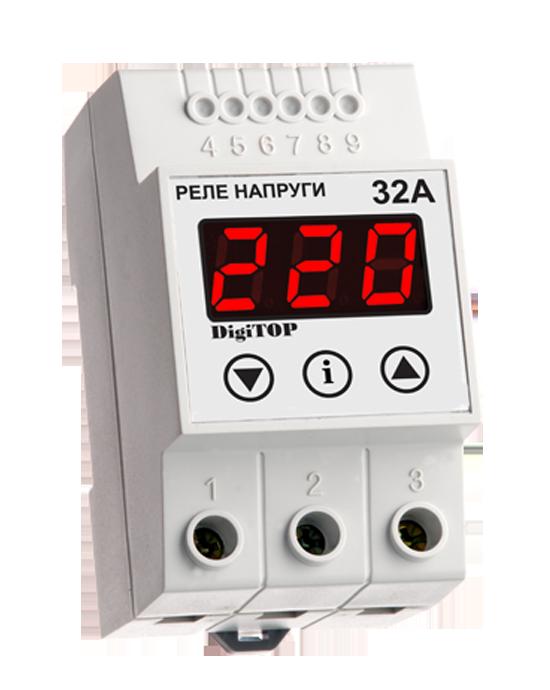 Реле контроля напряжения DigiTop VP-32A
