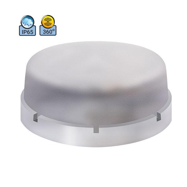 Светильник потолочный ERKA 1065D.i-P IP65 прозрачный/прозрачный с микроволновым датчиком движения