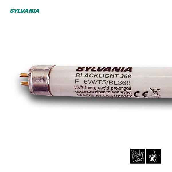 Лампа ультрафиолетовая в ловушки для насекомых Sylvania F 6W/T5/BL368 G5