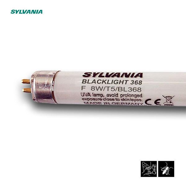 Лампа ультрафиолетовая в ловушки для насекомых Sylvania F 8W/T5/BL368 G5