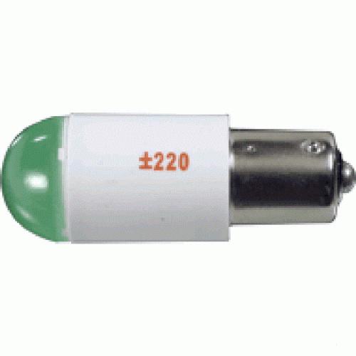 Лампа СКЛ4А-К-2-220 B15s/19 Красная