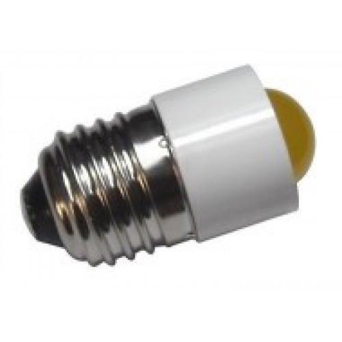 Лампа СКЛ7А-К-3-220 Е27/27 Красная